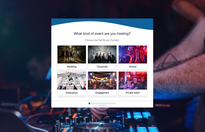 The DJ Form Template & Booking Solution