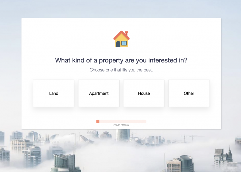 Property Inquiry Form Template