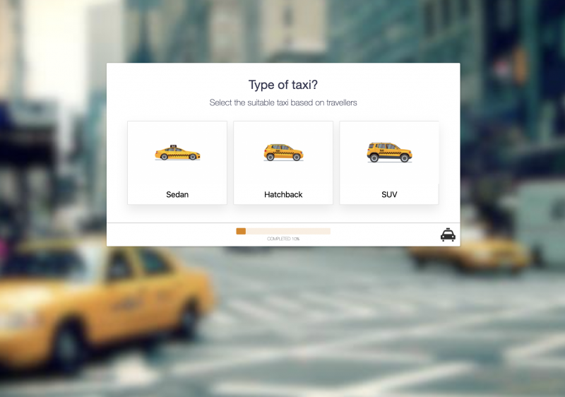 Taxi Booking Form Template
