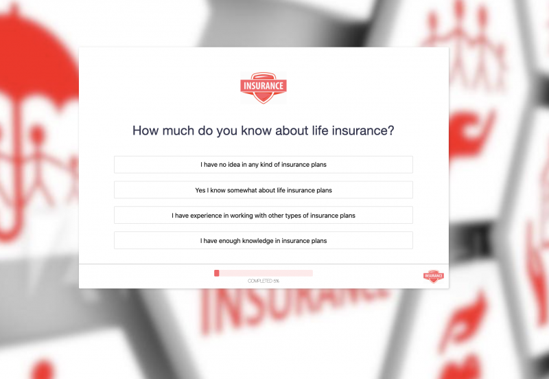 Life Insurance Quotation Form Template